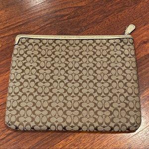 Coach iPad/tablet case